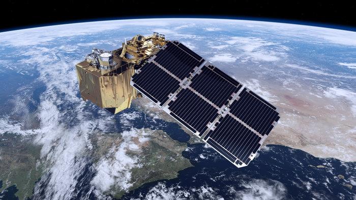 Sentinel-2 bringer land i fokus - credit ESA